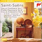 Saint-Sa�ns: Cello, Piano and Violin Concertos