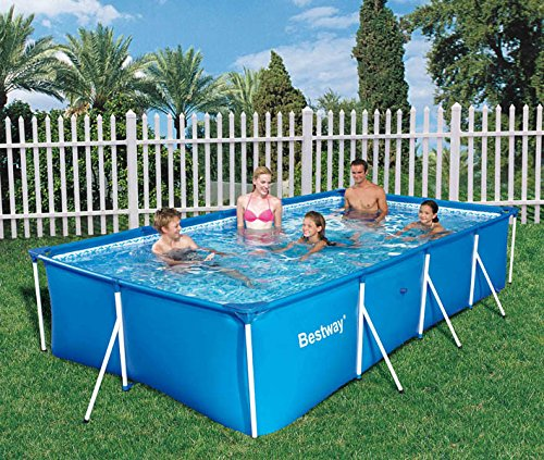 bestway stahlrahmenbecken splash jr swimmingpool test. Black Bedroom Furniture Sets. Home Design Ideas