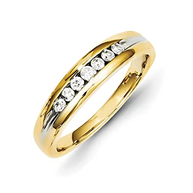 14ct Gold Diamond Mens Ring