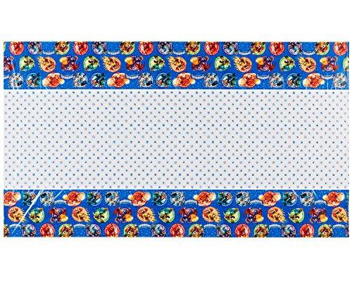 """American Greetings Skylanders Plastic Table Cover, 54"""" x 96"""""""