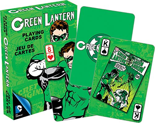 Aquarius DC Green Lantern Retro Playing Cards - 1