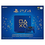 PlayStation 4 Slim 1TB Limited Edition Console - Days of Play Bundle [Discontinued] (Color: Blue, Tamaño: Days of Play Limited Edition Blue)