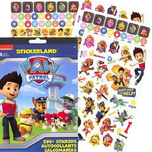 PAW Patrol Reward Stickers - 295 Stickers!