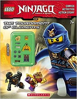 LEGO NINJAGO: The Tournament of Elements (Activity Book