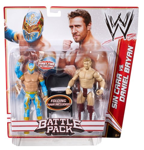 61wktZFkdyL Reviews WWE Battle Pack: Sin Cara vs. Daniel Bryan Figure 2 Pack Series 15