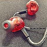 ◆国内正規品◆ HEIR AUDIO エアーオーディオ IEM 10AI Red レッド 10xバランス・ムービング・ドライブユニット (ケーブル脱着式) 10 Ai