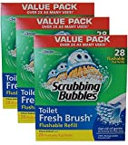 Scrubbing Bubbles Tiolet Fresh Brush Flushable Refills (pack of 3)