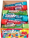 Hubba Bubba Squeeze Pop Assorted Sweet Lollipops Pack of 18
