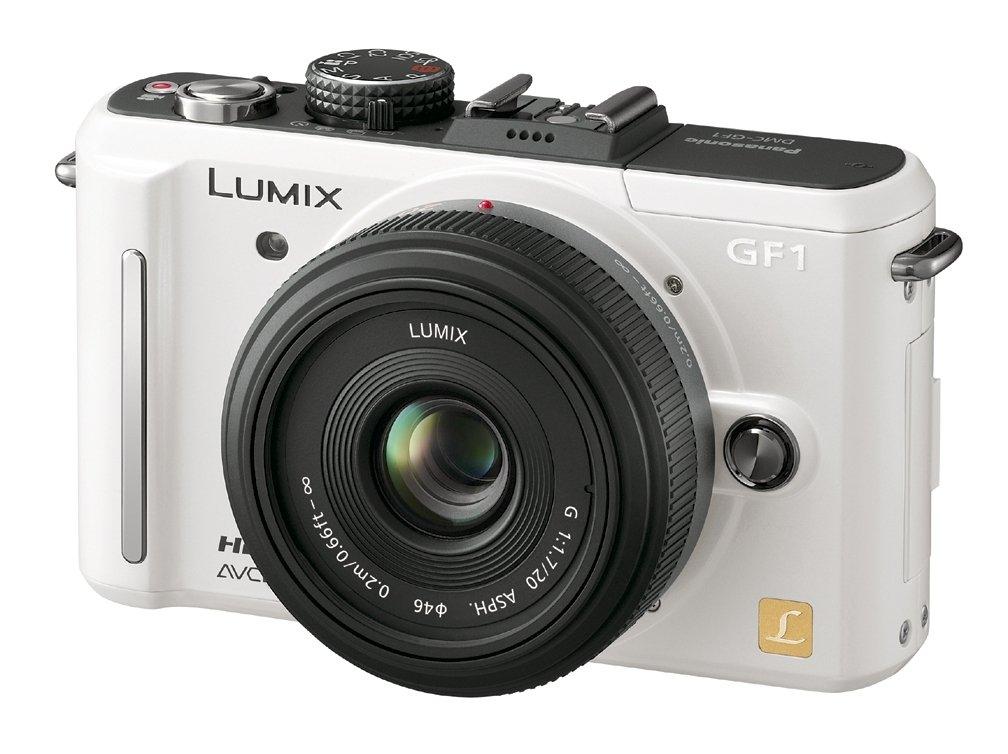 パナソニック LUMIX レンズキット  シェルホワイト DMC-GF1C-W