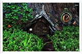 Hobbit House Tin Poster by Food & Beverage Decor Sign