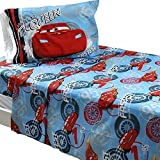 3pc Disney Lighting McQueen Twin Bed Sheet Set Race Car Number 95 Bedding Accessories by Jay Franco and Sons