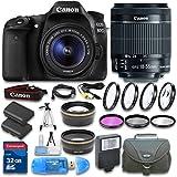 Canon EOS 80D DSLR Camera + Canon E