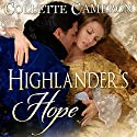 Highlander's Hope: Castle Bride Series Audiobook by Collette Cameron Narrated by J. D. Kelly