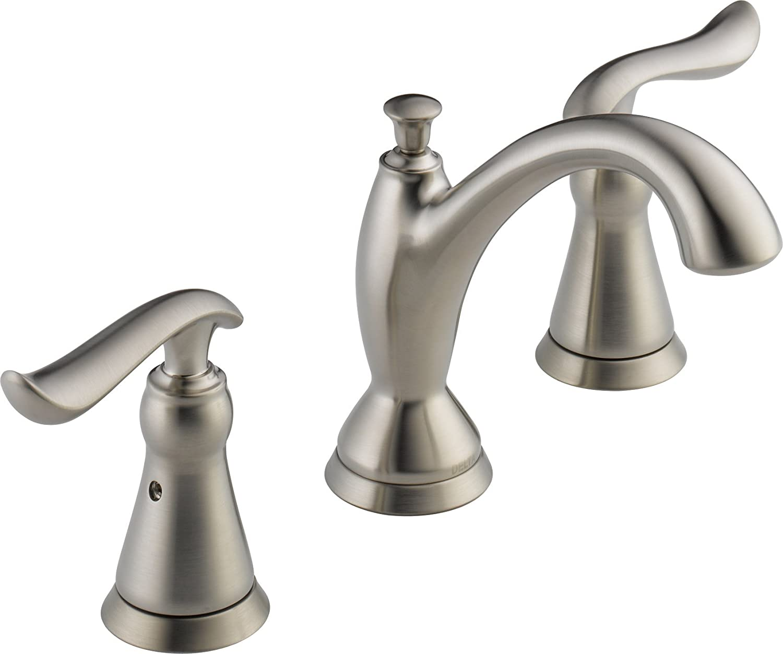 Delta Faucet 3594-SSMPU-DST Linden Stainless Widespread Lavatory Faucet