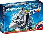 PLAYMOBIL 6874 - Polizei-Helikopter m...