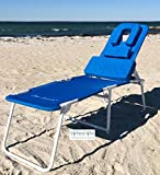Ergolounger OH Beach / Pool Chaise Lounger - Easy on off, wheelchair height for easy access.