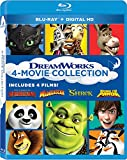 Dreamworks 4 Movie Collection [Blu-ray + DHD]