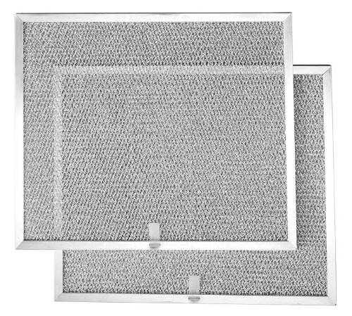 Broan BPS1FA36 Replacement Filters for QS1 and WS1 Range Hoods, 36-Inch, Aluminum, 2-Pack (Allure Range Hood Filter 36 compare prices)