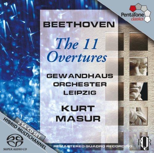 SACD : Ludwig van Beethoven - 11 Overtures (Hybrid SACD)