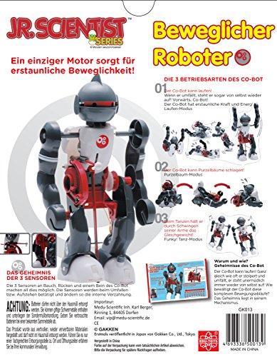 tanzender roboter zum selber bauen mit purzelbaummodus bausatz mit lehrbuch. Black Bedroom Furniture Sets. Home Design Ideas
