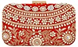 Arisha Kreation Co Clutch (Red)