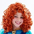 Brave Merida Wig, Red, One Size