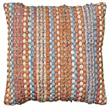 L.R. Resources LR07247-RU1818 Contemporary Accent Pillow, Rust