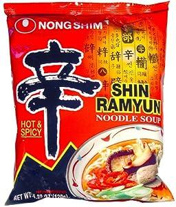 Nong Shim - Shin Ramyun Noodle Soup - Gourmet Spicy 42 Oz by Nong Shim America, Inc.