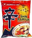 Nong Shim - Shin Ramyun Noodle Soup - Gourmet Spicy 4.2 Oz.