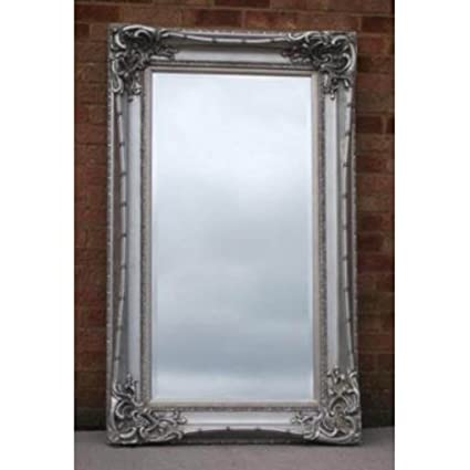 Long Silver Monte Carlo Mirror (6ft x 3ft)