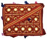 Khatri Handicrafts Women's Shoulder Bag (Brown)