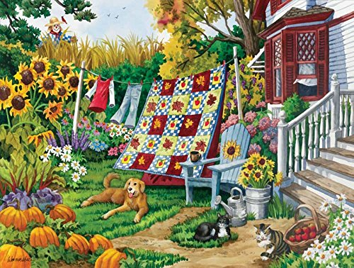 Country Autumn a 500-Piece Jigsaw Puzzle by Sunsout Inc. - 1