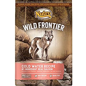 NUTRO Wild Frontier Cold Water Recipe Grain Free Salmon Dry Dog Food 24 Pounds