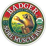 Badger Balm Organic Sore Muscle Rub 21 g