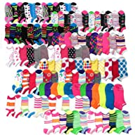 Women's No Show Fashion Fun Socks Who…