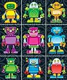 Carson Dellosa Robots Prize Pack Stickers (168063)