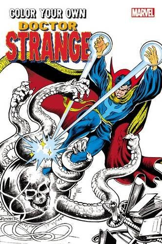 Color Your Own Doctor Strange Coloring Book