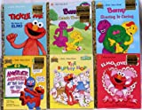 img - for Pre-School Little Golden Books Collection - 6 Books Including,