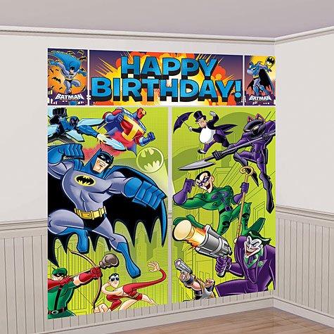 Imagen de Scene Setter Batman pared Decoración Kit