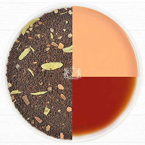 VAHDAM India's Original Masala Chai - Spiced Chai Tea, Loose Leaf Tea, 3.53oz/100g (Makes 50 Cups) - Delicious Blend of Assam CTC Black Tea with Fre