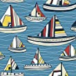 I Do Like To Beside The Seaside Theme Co-Ordination from Fabric Freedom - 100% Cotton British Designed Craft Fabrics for Patchwork and Quilting Co-ordinated Colours and Prints - (Price per /QUARTER Metre)