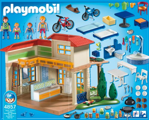Playmobil 4857 jeu de construction maison de for Piscine playmobil