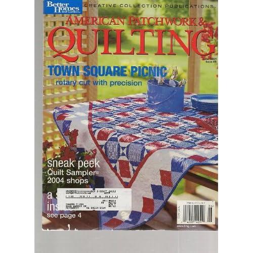 American Patchwork Amp Quilting Magazine June 2004 Better