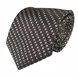 Rossini Men's Tie (UFAM98_Brown_Free Size)