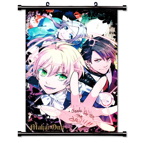 Makai Ouji - Devils and Realist Anime Fabric Wall Scroll Poster (16 x 24) Inches.[WP]-Mak-1 (Makai Ouji Devils And Realist compare prices)