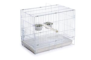 Prevue Hendryx Travel Bird Cage 1305 White 20-Inch (Tamaño: Pack of 3)