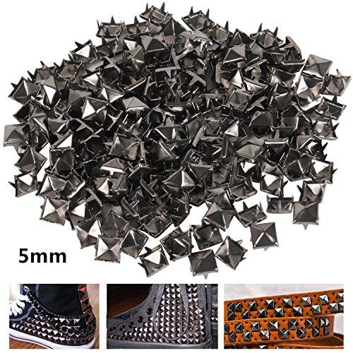 TRIXES 100 x Borchie a piramide punk rock per borse scarpe in pelle per lavori e design moda