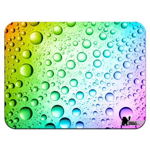 rainbow-multi-coloured-water-droplets-premium-quality-thick-rubber-mouse-mat-pad-soft-comfort-feel-f