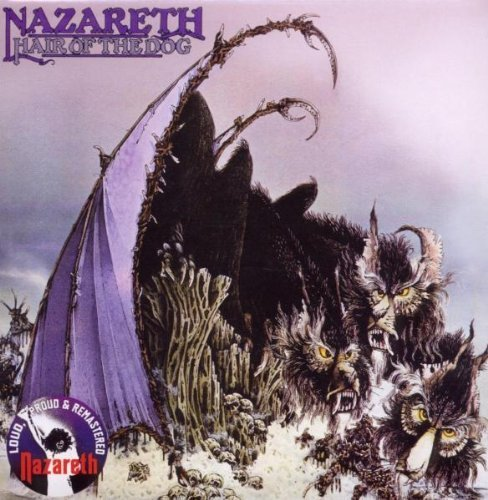 Original album cover of Hair of the Dog Import Edition by Nazareth (2010) Audio CD by Nazareth