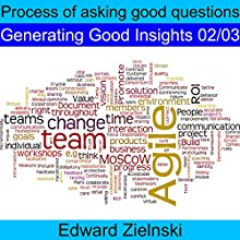 Process of Asking Good Questions Audiobook by Edward Zielinski Narrated by Edward Zielinski